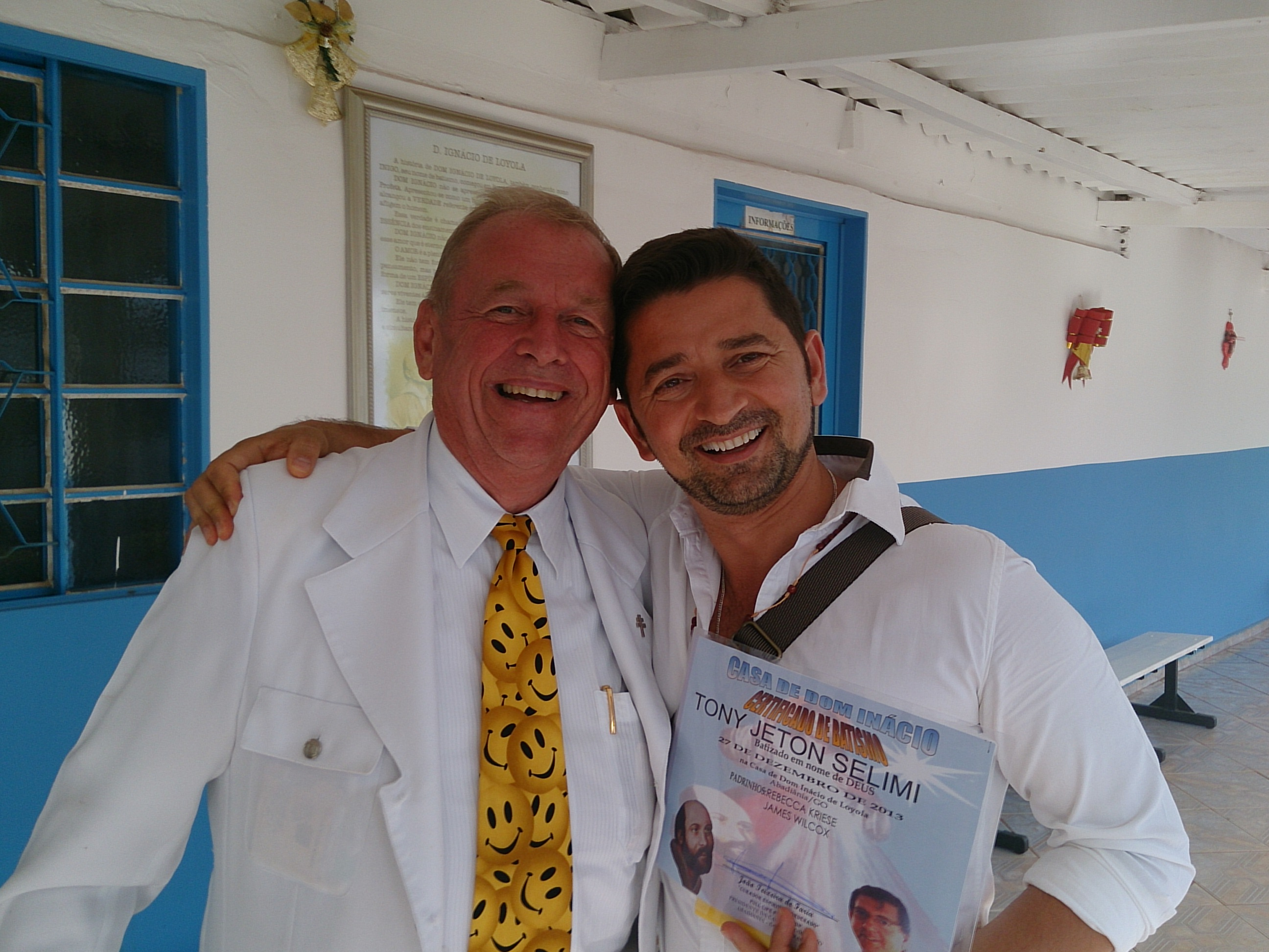 Tony J Selimi at the Casa dom Ignacio