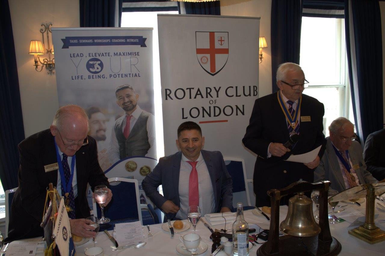 Tony J Selimi Coaching Speaking Rotary International