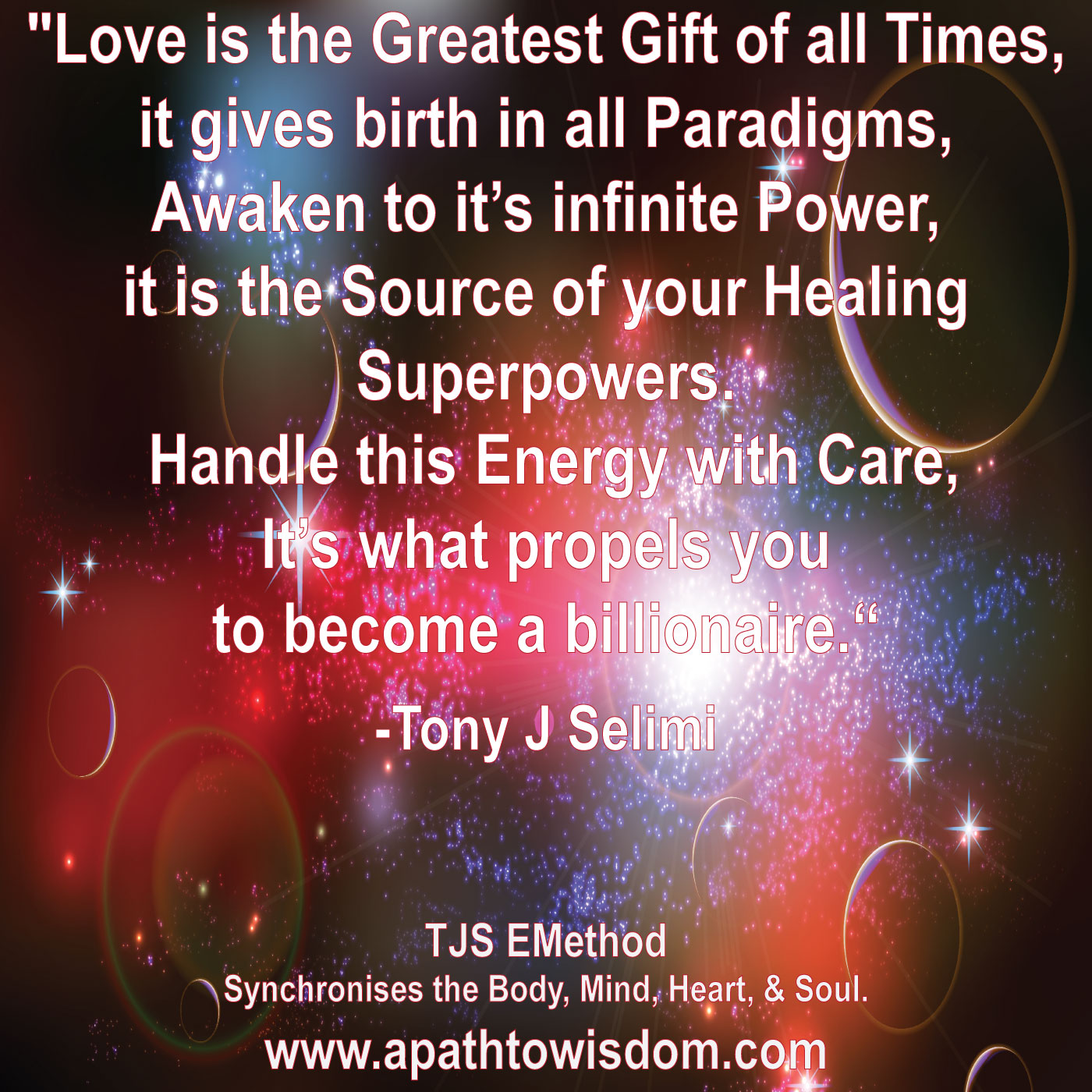 The-Power-of-Love-by-Tony-J-Selimi