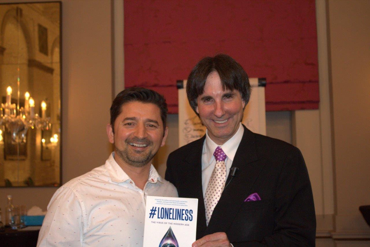 Tony J Selimi with Dr John Demartini